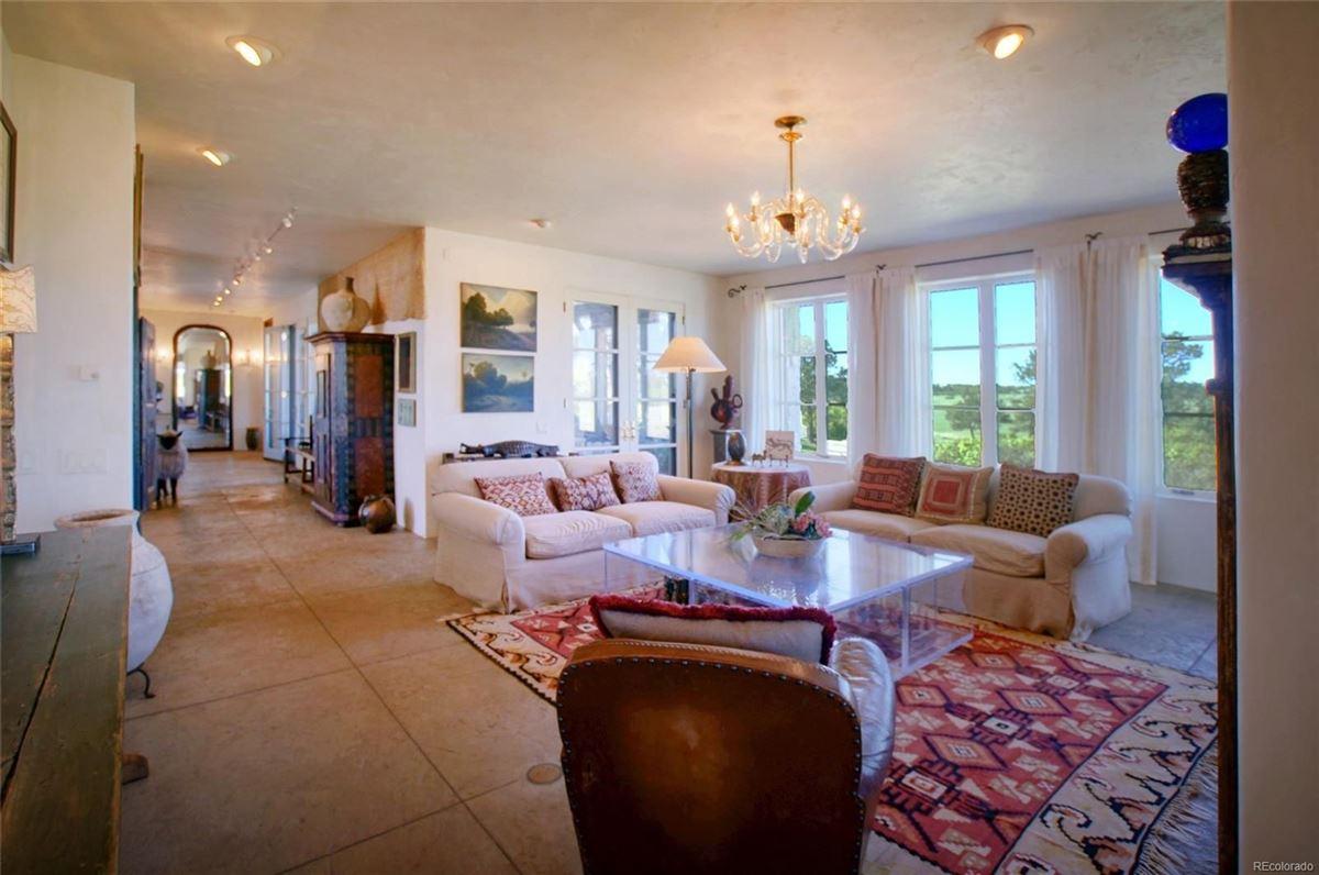 commanding views of Pikes Peak luxury real estate