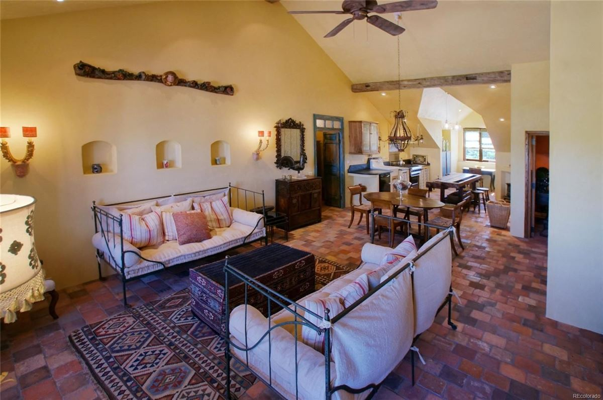 Luxury properties commanding views of Pikes Peak