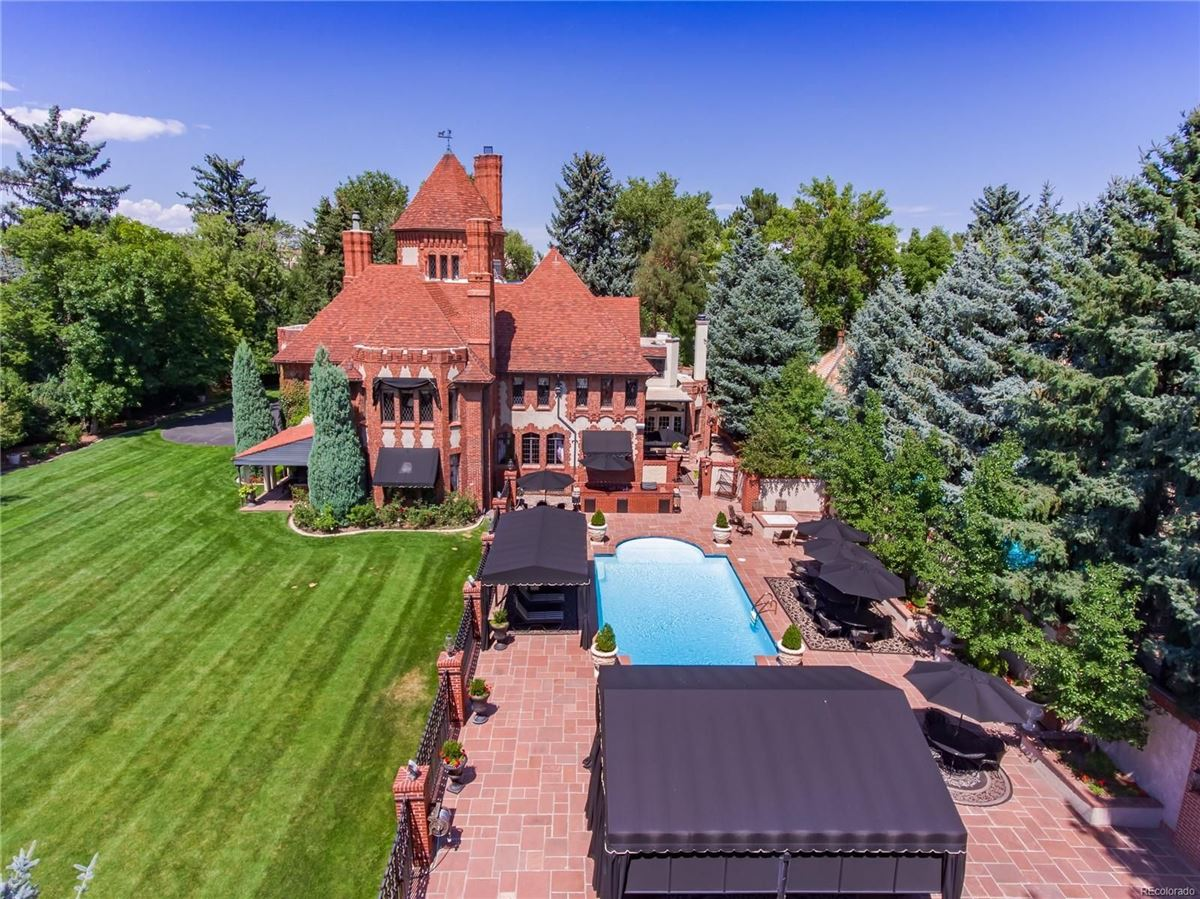 Luxury homes in stately 1920s Tudor Estate