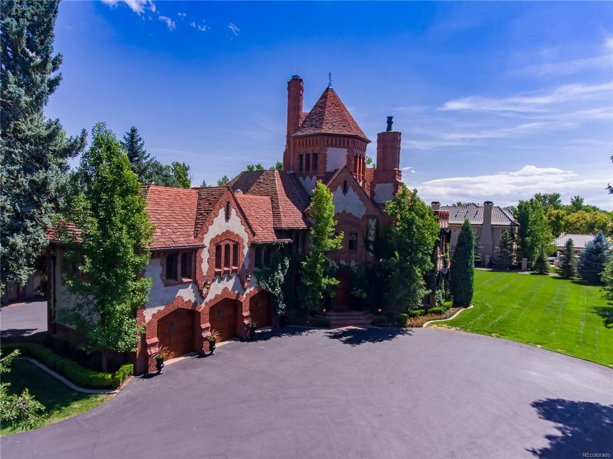 Luxury real estate stately 1920s Tudor Estate