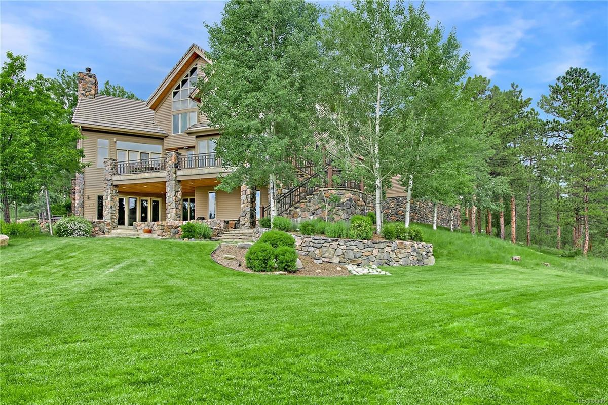 Pristine Designer Home in Colorado Foothills luxury properties