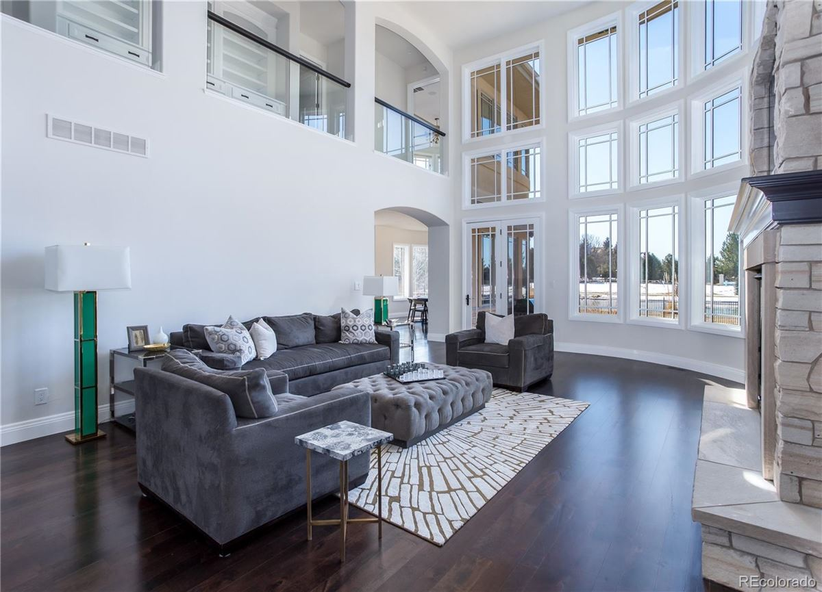 Luxury homes stylishly updated home overlooking Buell Lake
