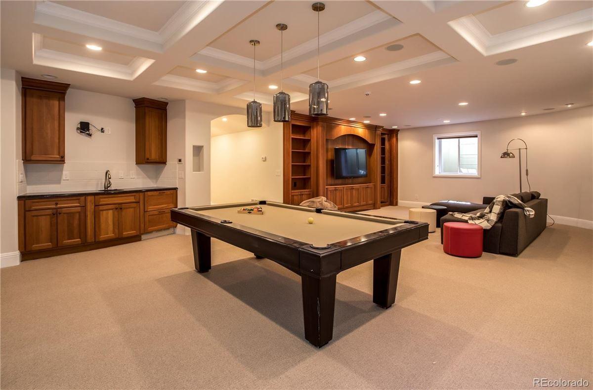 stylishly updated home overlooking Buell Lake luxury properties
