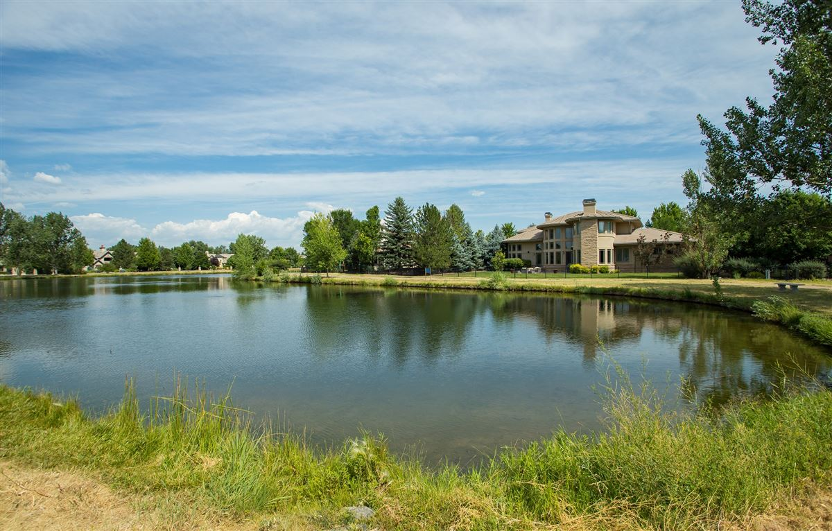 Mansions in stylishly updated home overlooking Buell Lake