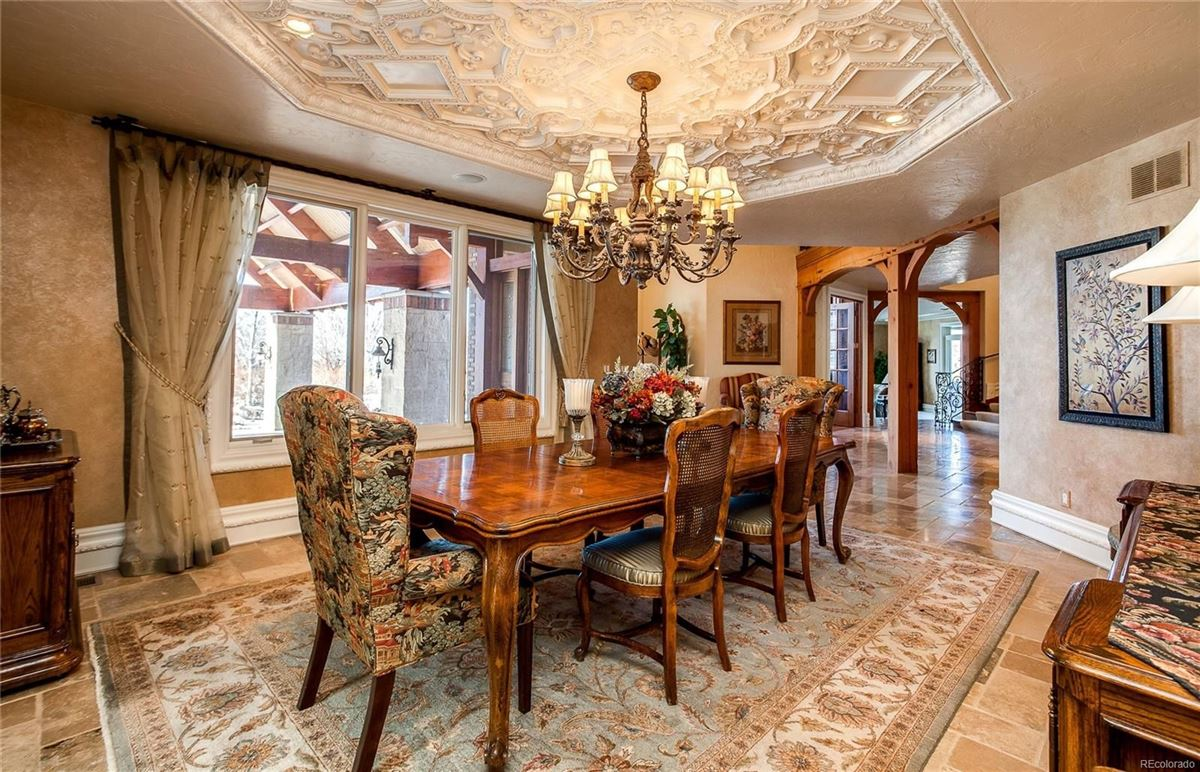 Luxury homes Exceptional custom traditional estate