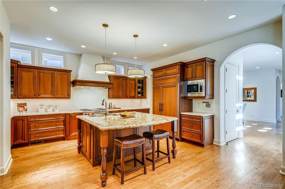 Luxury properties one of the most breathtaking homes in Cherry Creek North