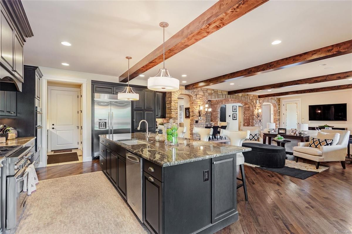 Luxury real estate This home shows better than a model home