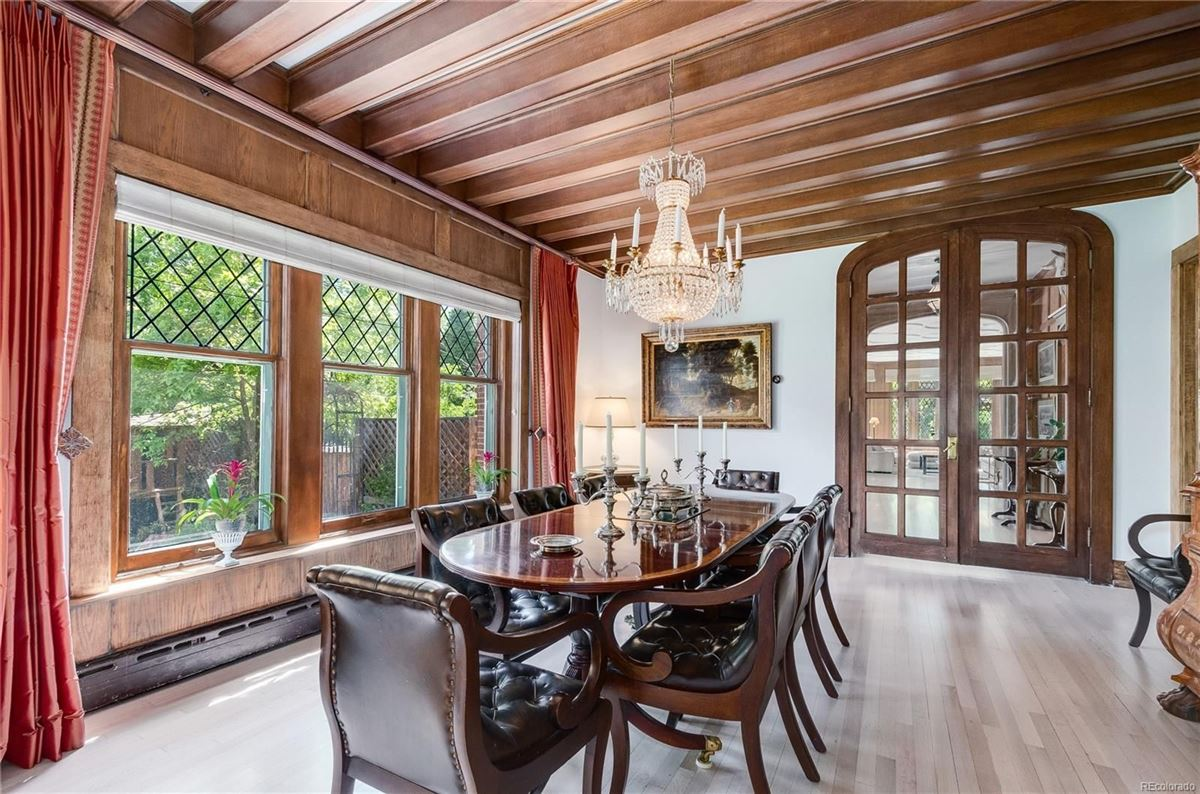 Mansions in this spectacular home has grand street presence
