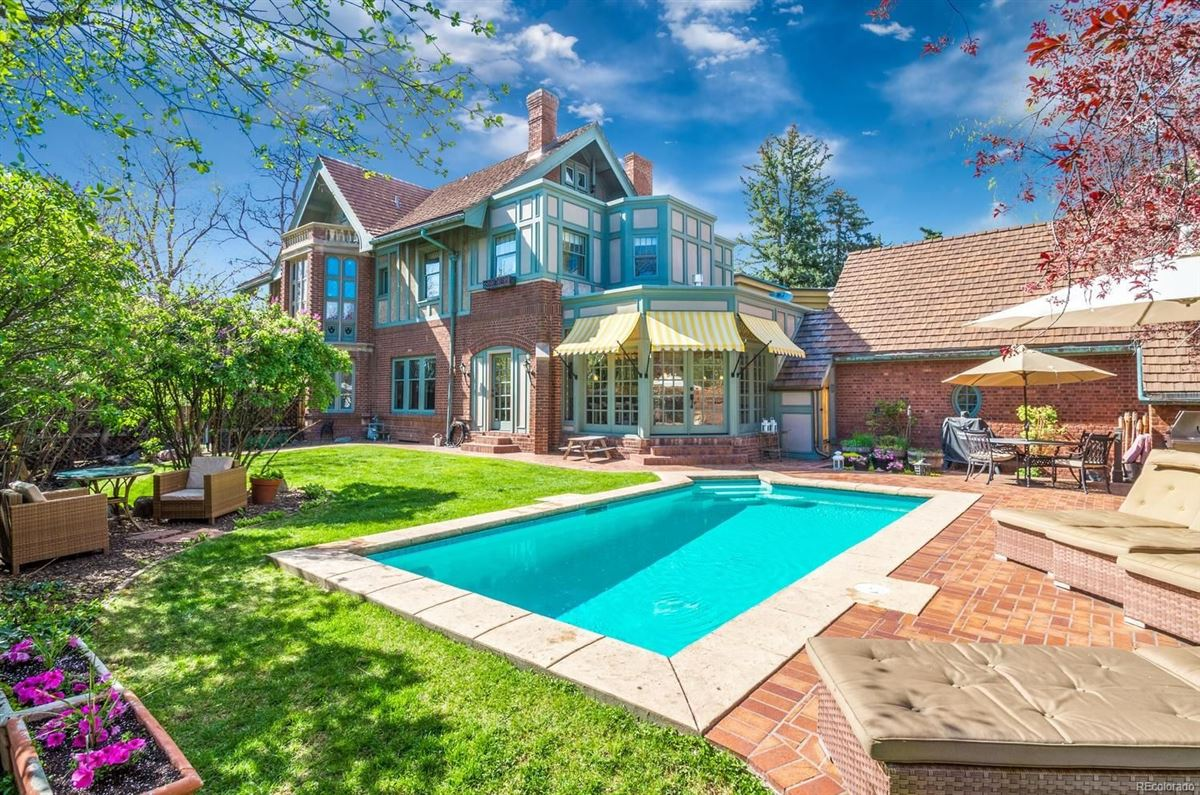 this spectacular home has grand street presence luxury homes
