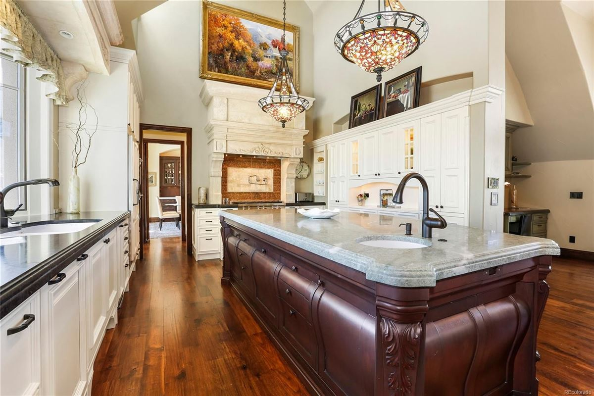 Luxury real estate Historic Greenwood Village estate home