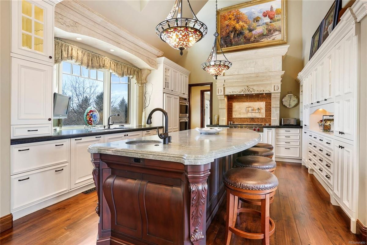 Historic Greenwood Village estate home luxury real estate