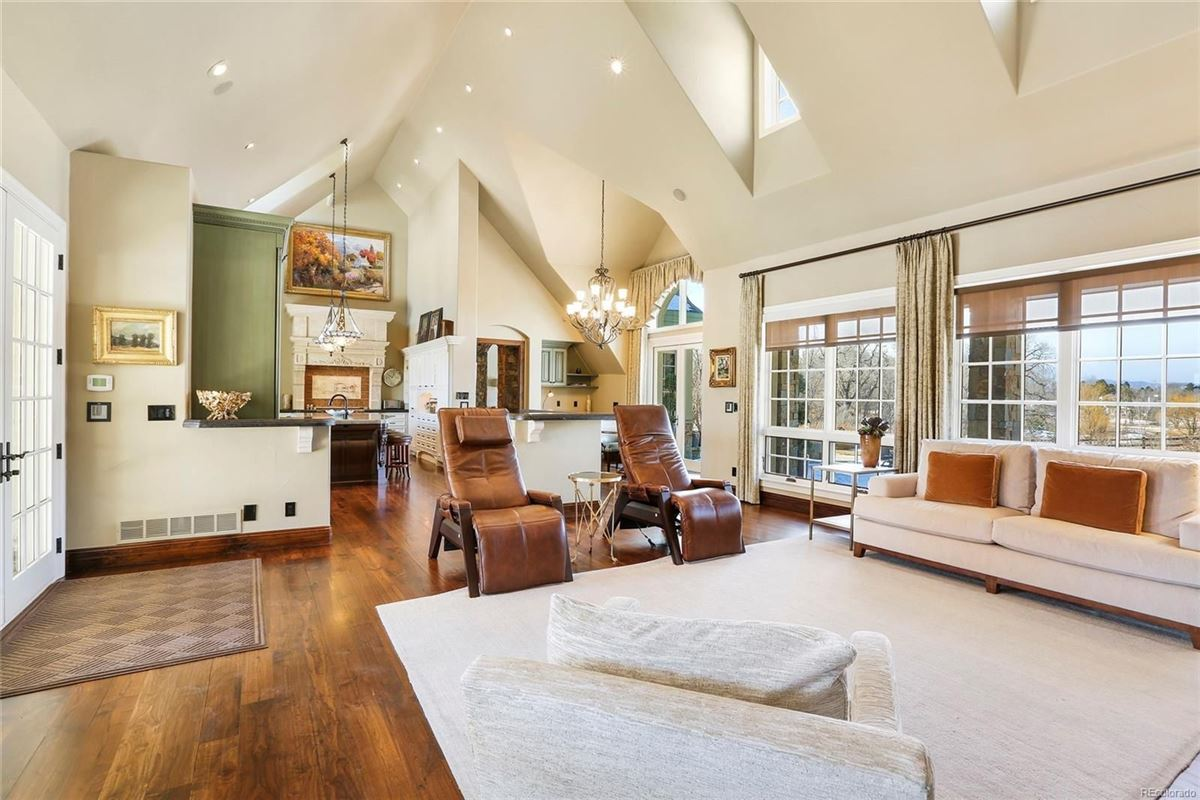 Luxury homes in Historic Greenwood Village estate home