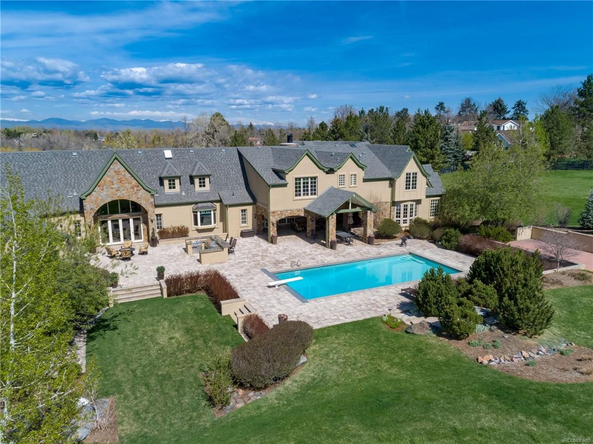 Luxury properties Historic Greenwood Village estate home