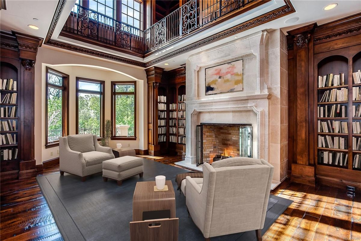 Luxury homes in an exquisite custom home