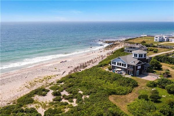 Luxury real estate One-of-a-kind oceanfront estate on six-plus acres