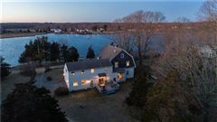 Charming Shingle Style Home with private dock luxury properties