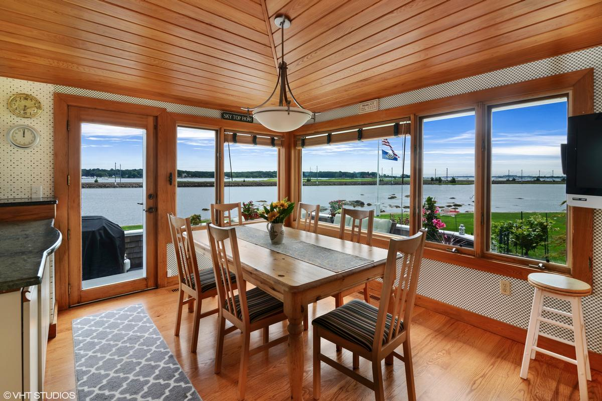 Waterfront home on the Mystic River  luxury homes