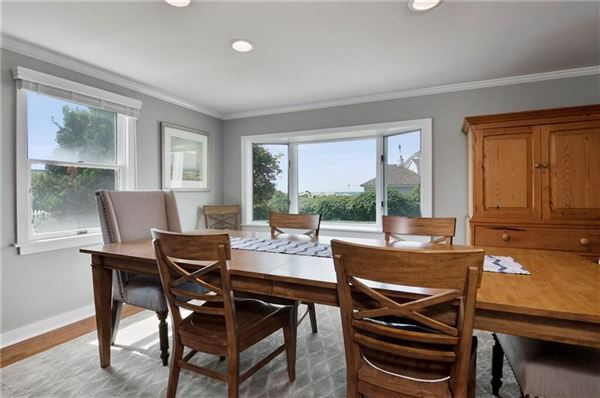 Enjoy spectacular views of Long Island Sound and more luxury homes