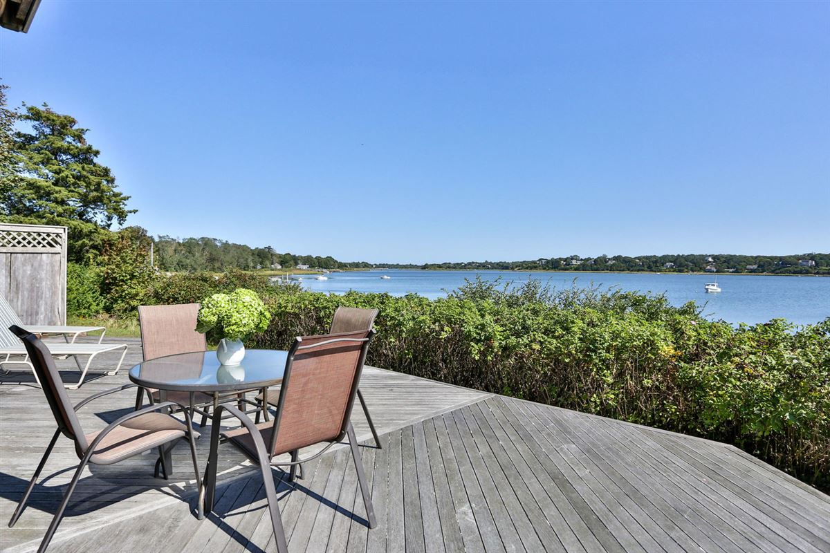 Well-constructed waterfront home luxury properties