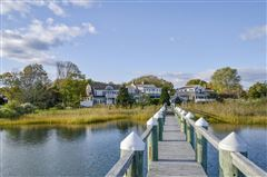 Exceptional waterfront Nantucket style Gambrel luxury real estate