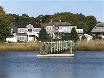 Exceptional waterfront Nantucket style Gambrel luxury properties