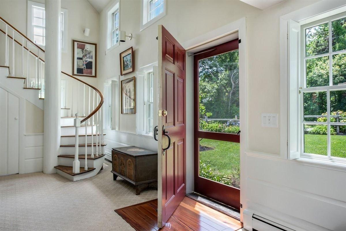 Luxury properties beautifully restored saltbox