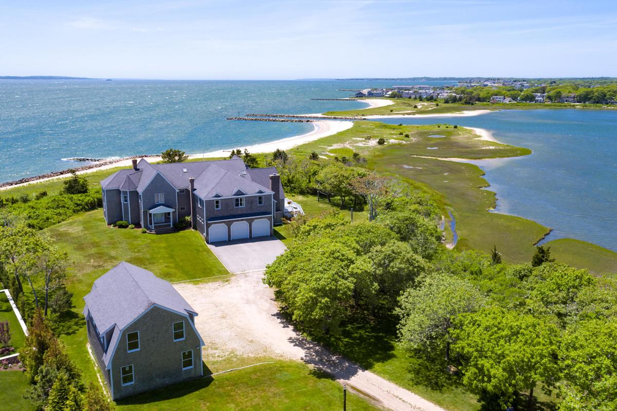 Vineyard Sound 6.9 acre Waterfront Estate luxury properties