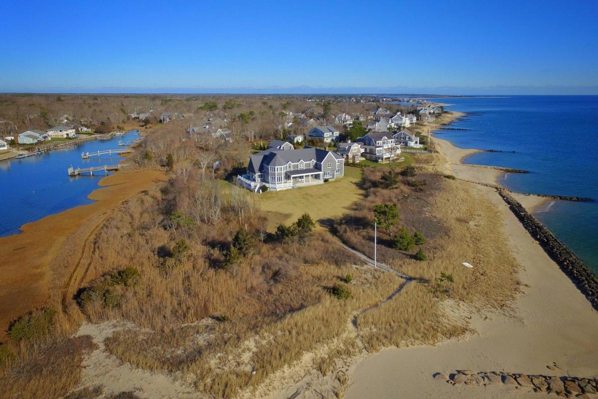 Mansions Vineyard Sound 6.9 acre Waterfront Estate