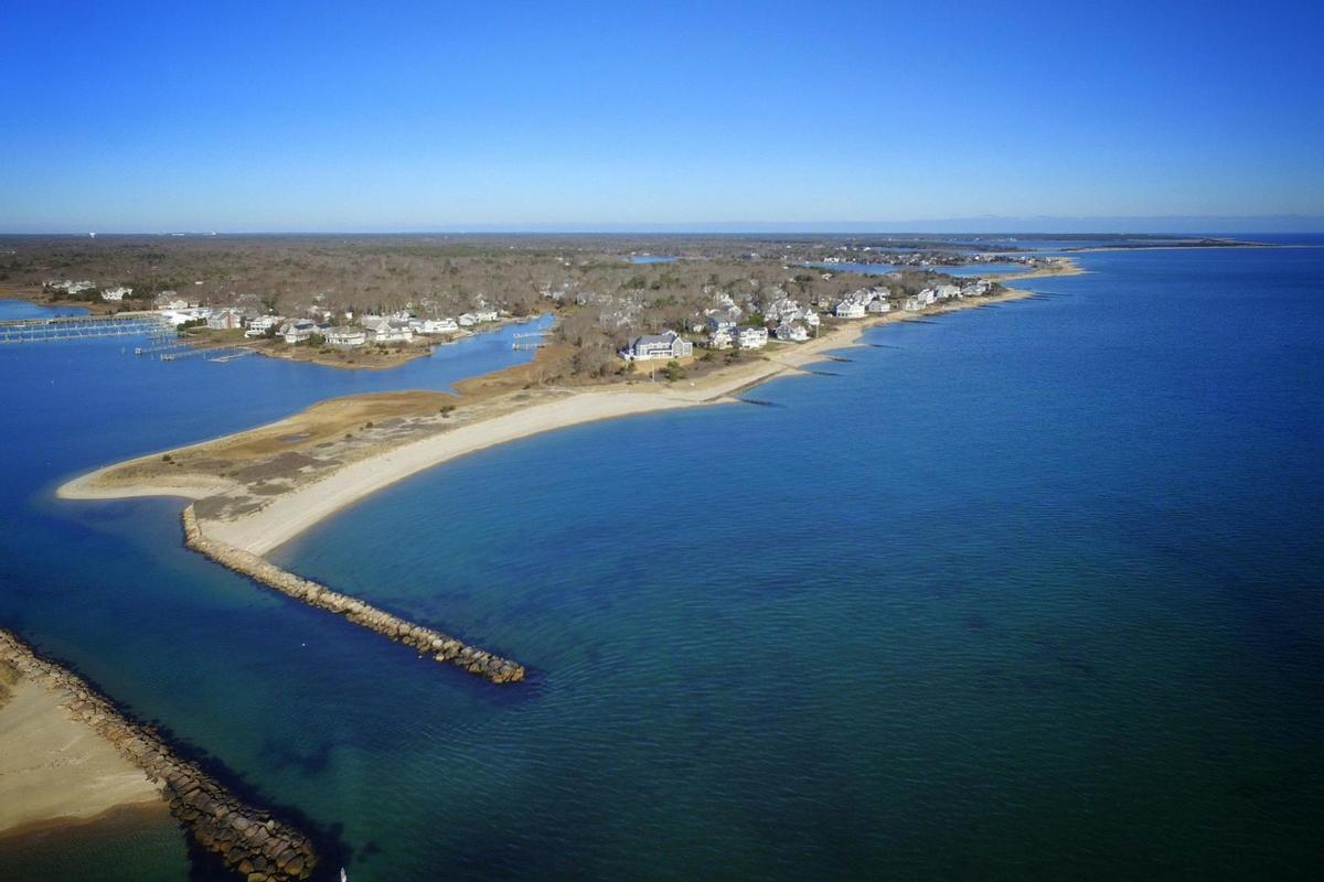 Vineyard Sound 6.9 acre Waterfront Estate mansions