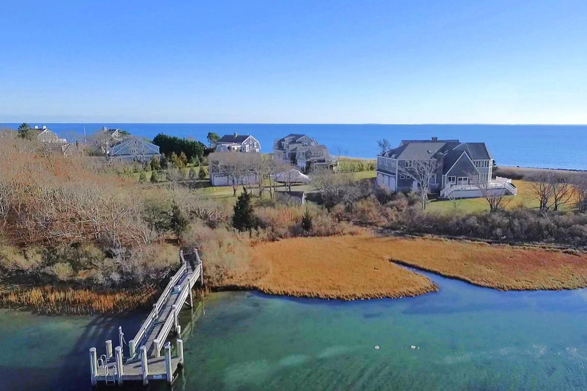 Luxury properties Vineyard Sound 6.9 acre Waterfront Estate