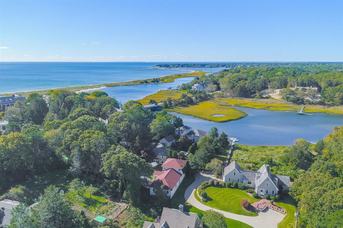 Stunning waterfront home in centerville luxury homes