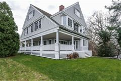 Luxury real estate Cape Cod home overlooking harbors