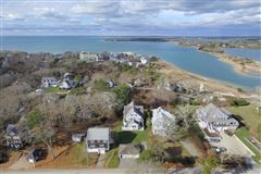 Cape Cod home overlooking harbors mansions