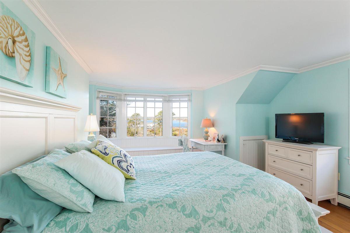 Cape Cod home overlooking harbors luxury homes