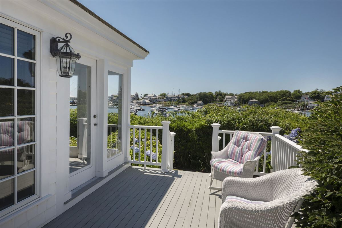 Mansions in A true masterpiece on Wychmere Harbor