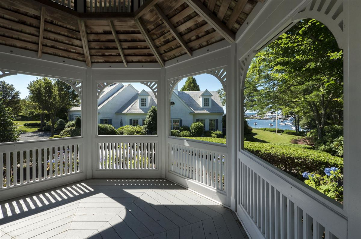 A true masterpiece on Wychmere Harbor luxury homes