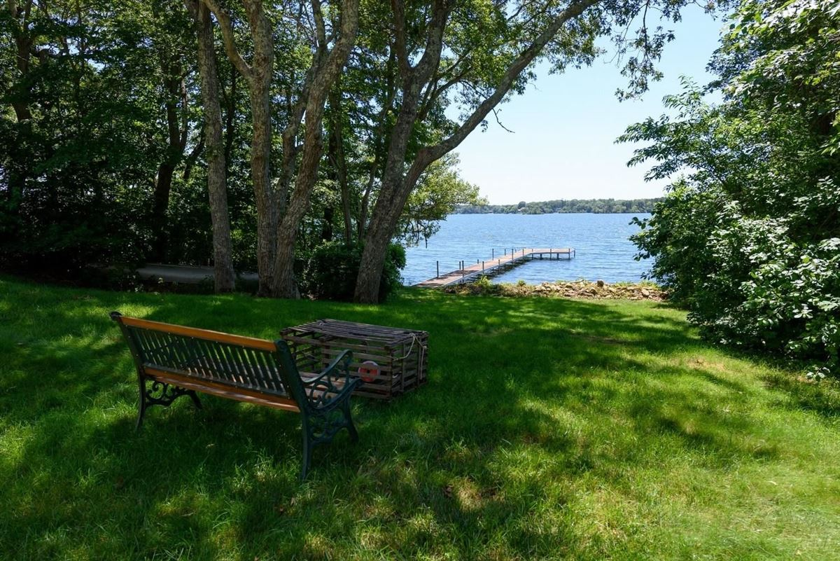 remarkable property sites on Wequaquet Lake luxury real estate