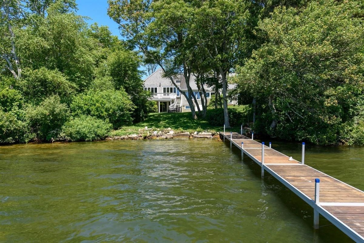 remarkable property sites on Wequaquet Lake luxury properties