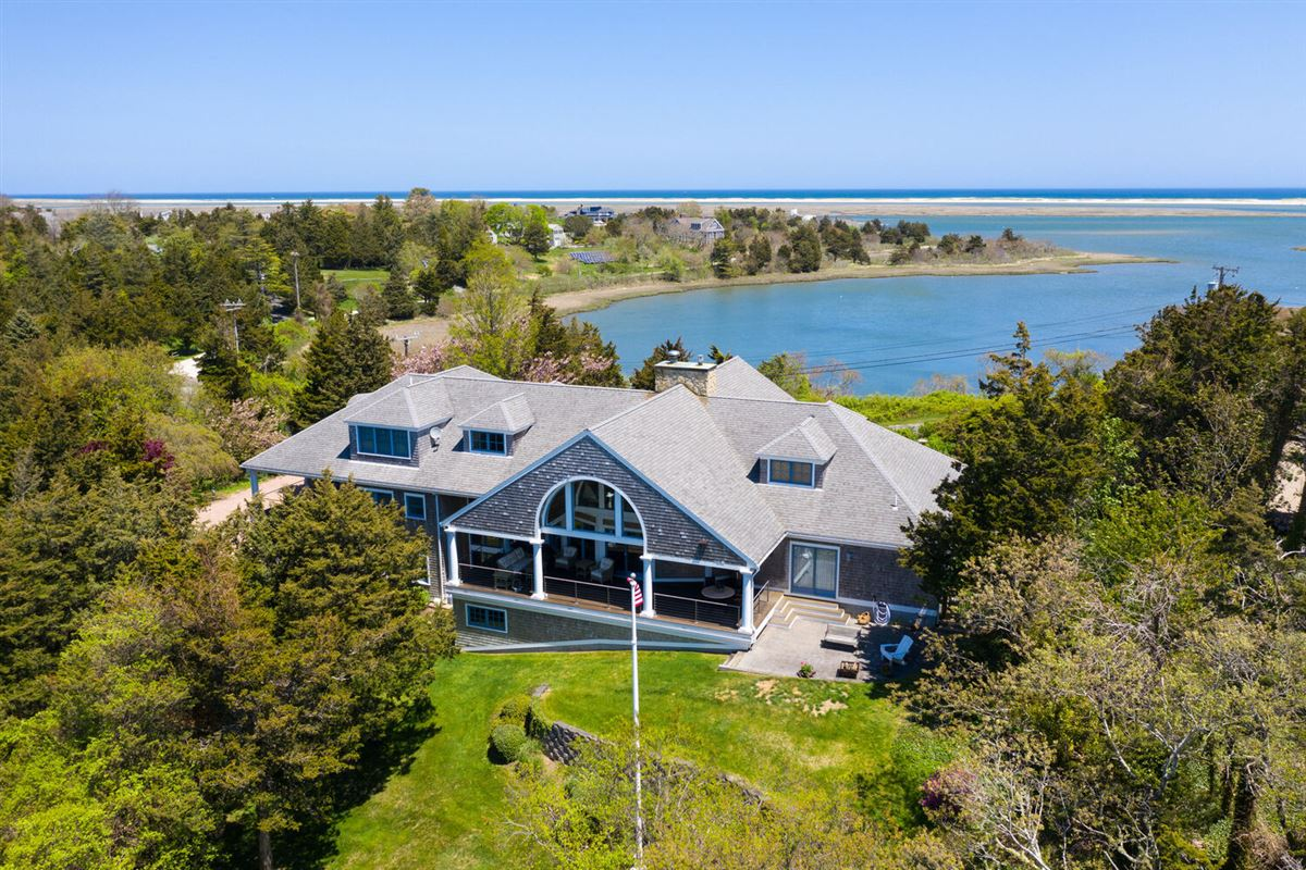 Architecturally designed home in snow point luxury homes