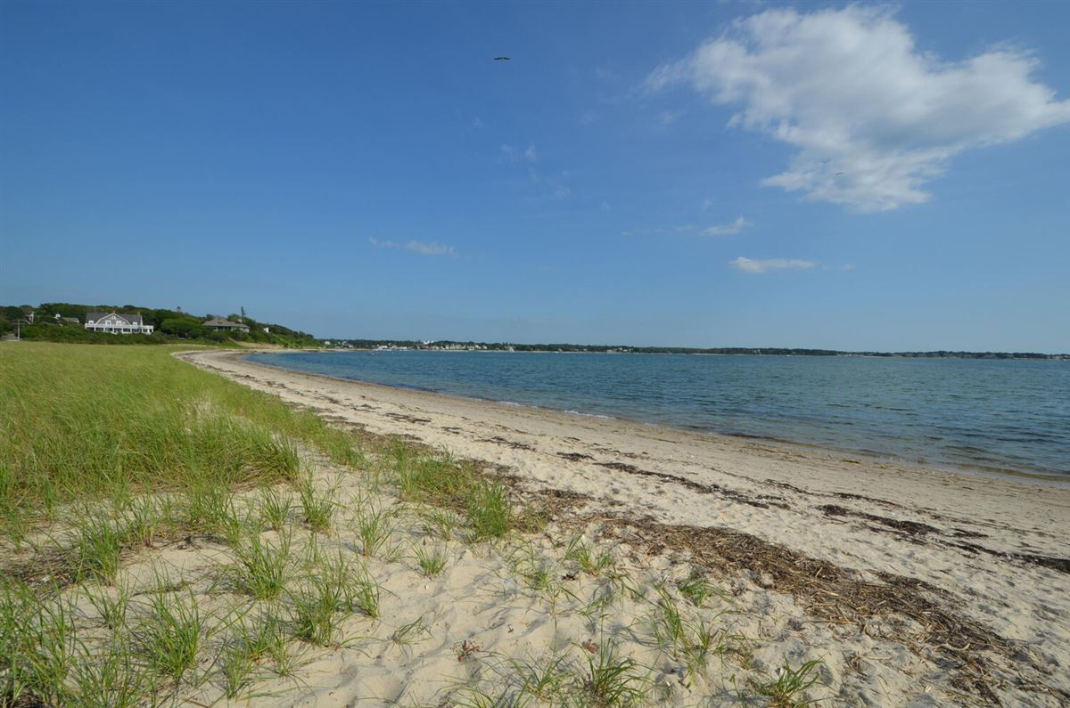 Panoramic views of Buzzards Bay luxury real estate