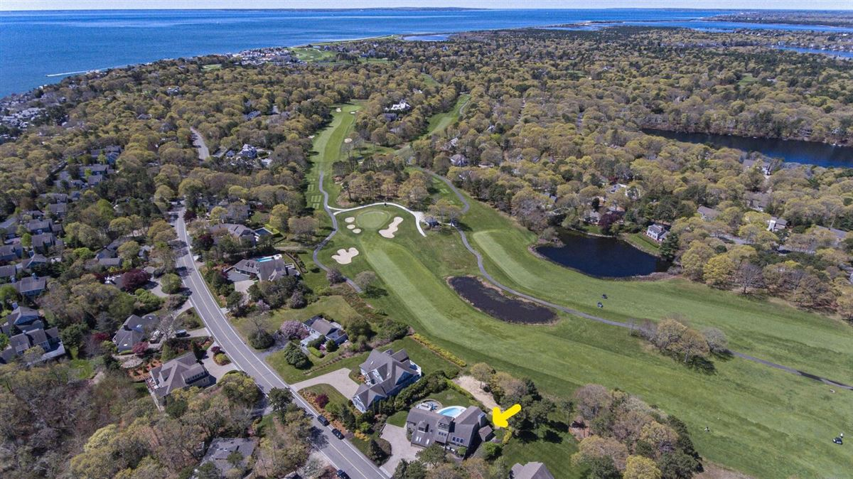 Luxury homes in custom contemporary overlooking Ocean Golf Course