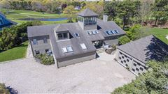 Luxury real estate custom contemporary overlooking Ocean Golf Course