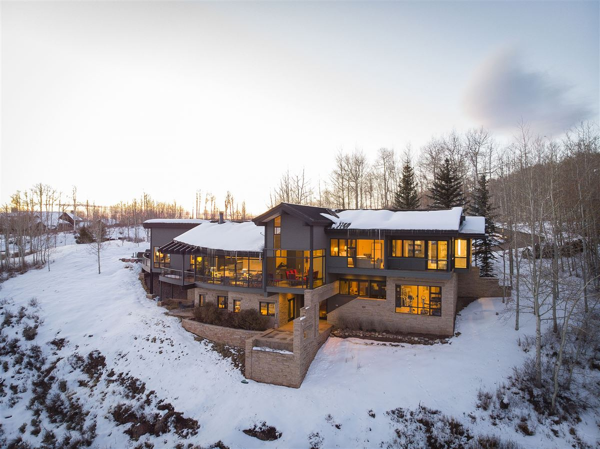 Luxury real estate Award-winning home surrounded by nature