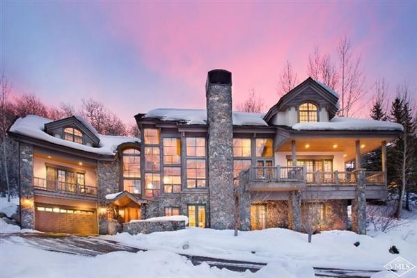 Borders Road Home In Beaver Creek Colorado Luxury Homes