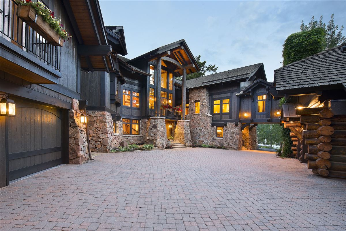 Luxury properties Extraordinary Bachelor Gulch Luxury Home