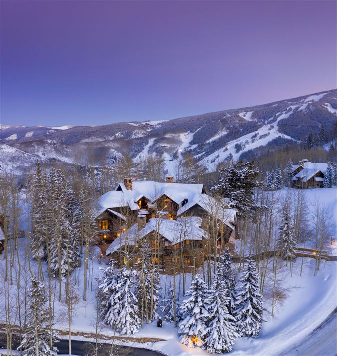 Mansions in Extraordinary Bachelor Gulch Luxury Home