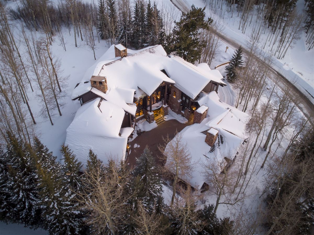 Luxury real estate Extraordinary Bachelor Gulch Luxury Home