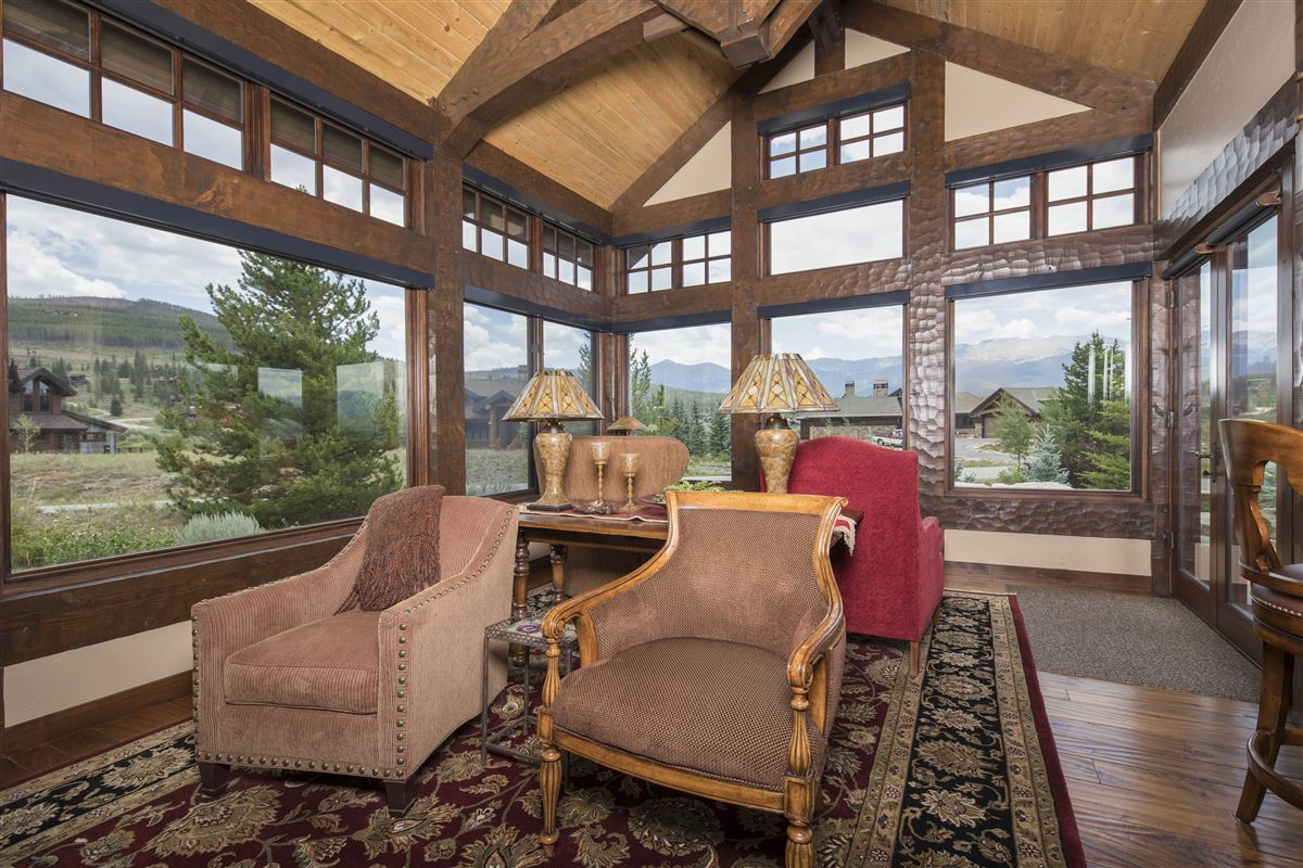 Luxury homes exceptional Highlands at Breckenridge residence