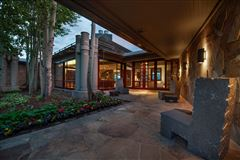 superior contemporary in serene private setting luxury homes