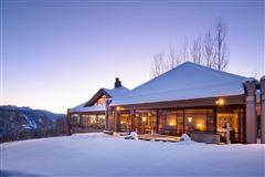 Luxury real estate superior contemporary in serene private setting